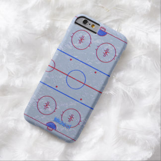 Hockey Ice Rink iPhone 6 case Barely There iPhone 6 Case