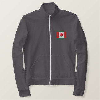 Hockey in  Canada Embroidered Jacket