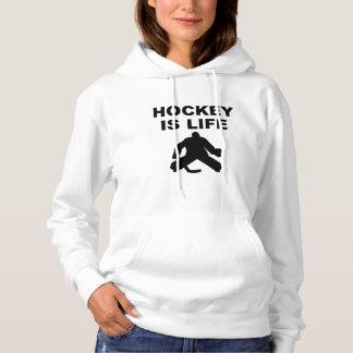 Hockey Is Life Goalie Hoodie