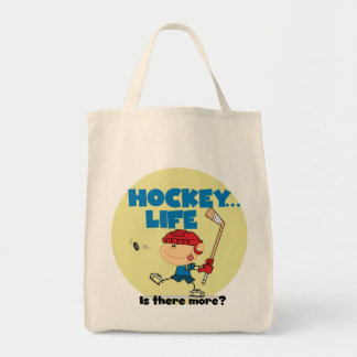 Hockey is There More T-shirts and Gifts Canvas Bag
