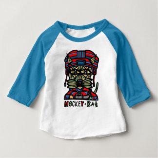 """Hockey Kat"" Baby Raglan T-Shirt"