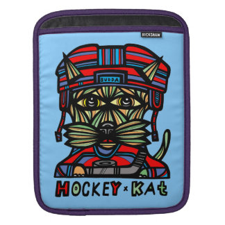 """Hockey Kat"" Ipad Sleeve Case"