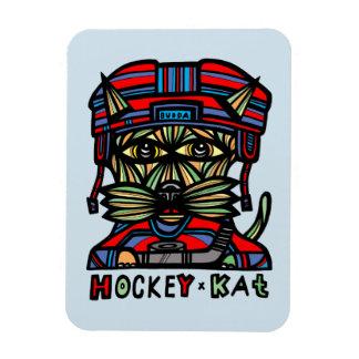 """Hockey Kat"" Magnet"