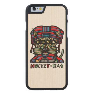 """Hockey Kat"" Wood Phone Case"