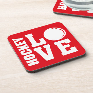 Hockey Love Coaster