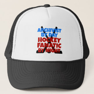 Hockey Lover Archivist Trucker Hat