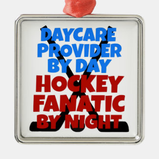 Hockey Lover Daycare Provider Metal Ornament