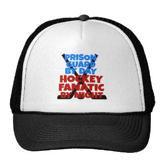 Hockey Lover Prison Guard Cap
