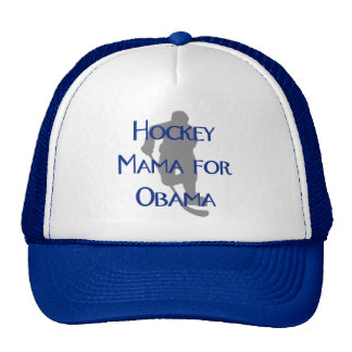 Hockey Mama for Obama Cap