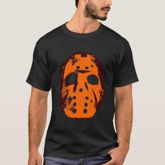 hockey mask orange  T-Shirt