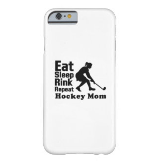 Hockey Mom Hockey Lover Funny Gifts Barely There iPhone 6 Case