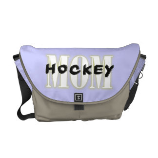 Hockey Mom Messenger Bag