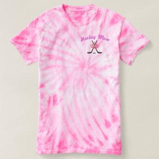 Hockey Mom Tie Dye T Shirt - Hockey Moms Rule