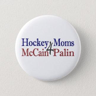 Hockey Moms 4 McCain Palin 6 Cm Round Badge