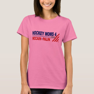 Hockey Moms for McCain Palin T-Shirt