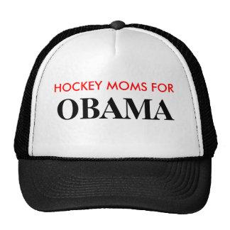 HOCKEY MOMS FOR, OBAMA CAP