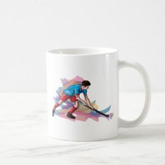 Hockey more player basic white mug