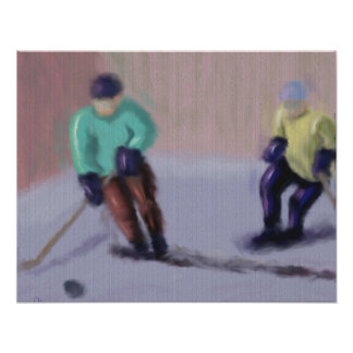 Hockey Moves Poster