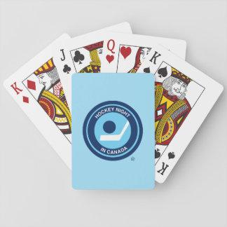 Hockey Night in Canada retro logo Poker Cards