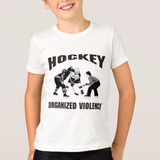 Hockey Organized Violence Kids Shirts