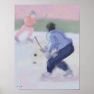 Hockey Play Poster