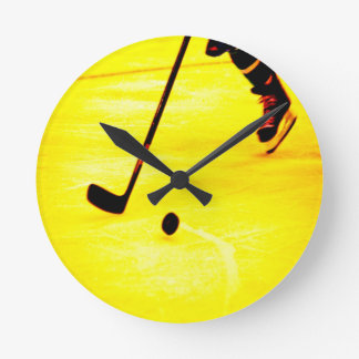 Hockey Play Wallclocks