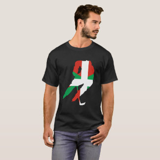 Hockey player and Basque T-Shirt