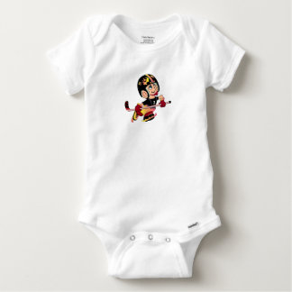 HOCKEY  PLAYER BABY CUTE Baby Gerber Cotton O Baby Onesie