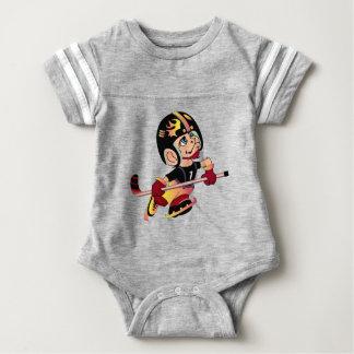 HOCKEY PLAYER Baby Football Bodysuit