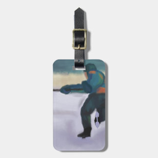 Hockey Player, Bag Tag