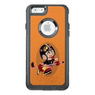 HOCKEY PLAYER CARTOON Apple iPhone 6  CS OtterBox iPhone 6/6s Case