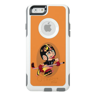 HOCKEY PLAYER CARTOON Apple iPhone 6  CS W