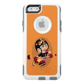 HOCKEY PLAYER CARTOON Apple iPhone 6  CS W OtterBox iPhone 6/6s Case