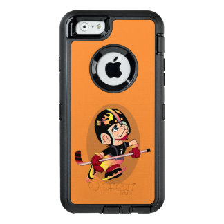 HOCKEY PLAYER CARTOON Apple iPhone 6  DS