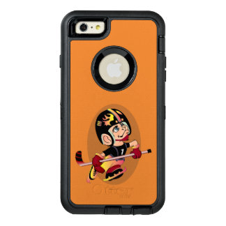 HOCKEY PLAYER CARTOON Apple iPhone 6 Plus  DF