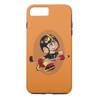 HOCKEY PLAYER CARTOON Apple iPhone 7 Plus  TOUGH iPhone 8 Plus/7 Plus Case