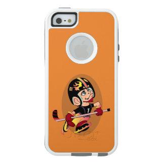 HOCKEY PLAYER CARTOON Apple iPhone SE/5/5s  CS W