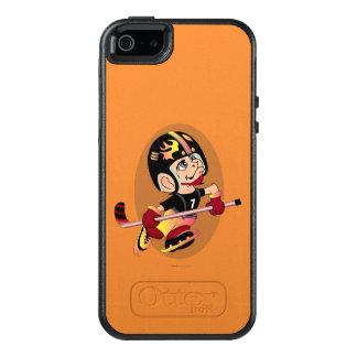 HOCKEY PLAYER CARTOON Apple iPhone SE/5/5s  SS