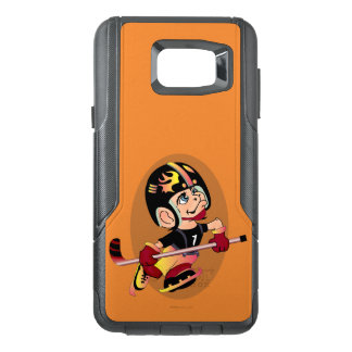 HOCKEY PLAYER CARTOON Samsung Note 5 CS