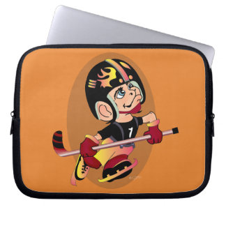 HOCKEY PLAYER CUTE CARTOON Sleeves 10 ""