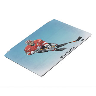 Hockey Player Design iPad Cover