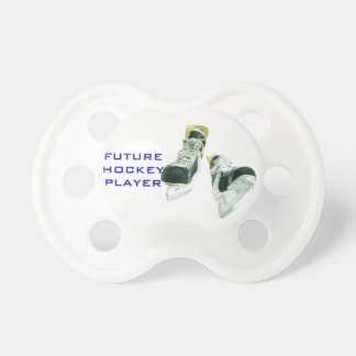 Hockey Player-Ice Skates Baby Pacifier