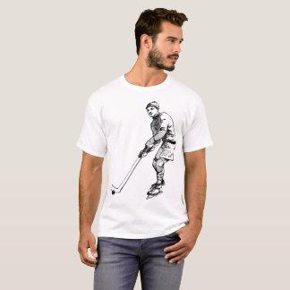 Hockey Player Illustration T-Shirt