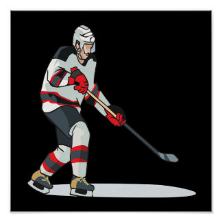 Hockey Player Posters
