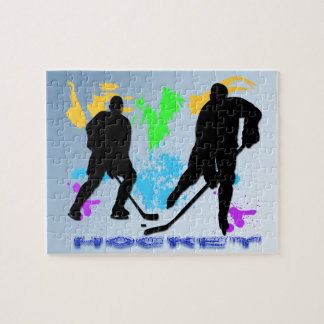 Hockey Players Puzzle