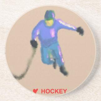 Hockey Playoff Art Coaster