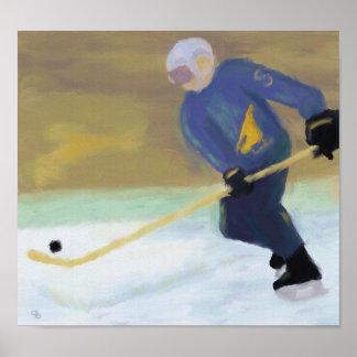 Hockey Practice Poster