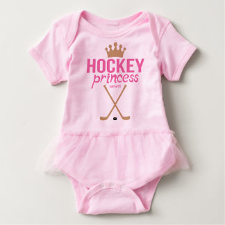 Hockey Princess Baby Girl Pink Infant Bodysuit