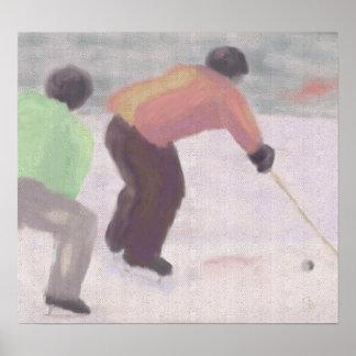 Hockey Race, Poster