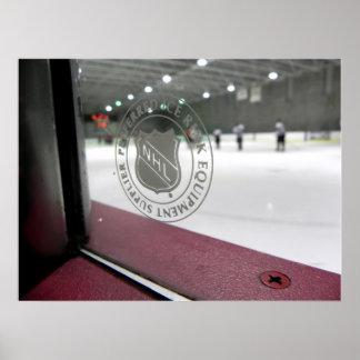 Hockey Rink Poster